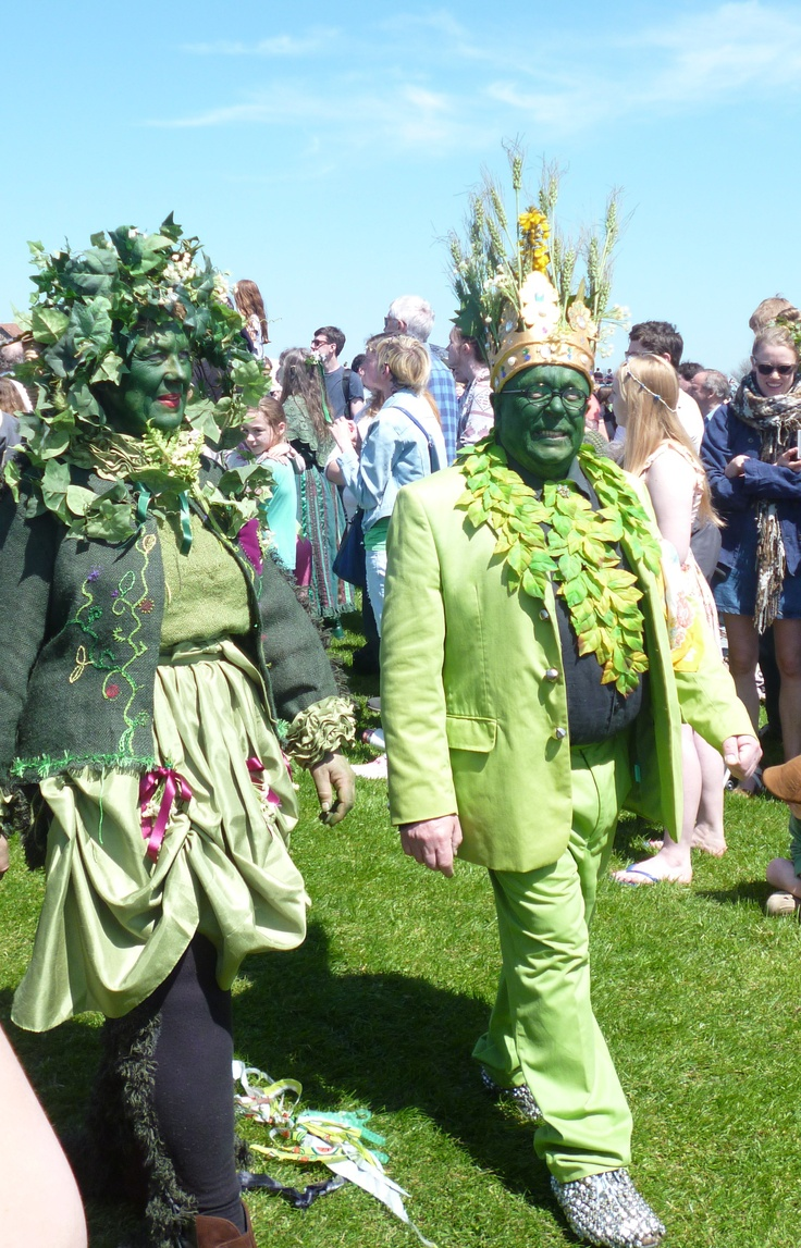 Jack in the Green procession 2013