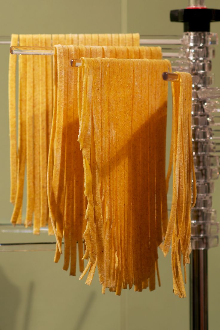 drying home-made pasta ...