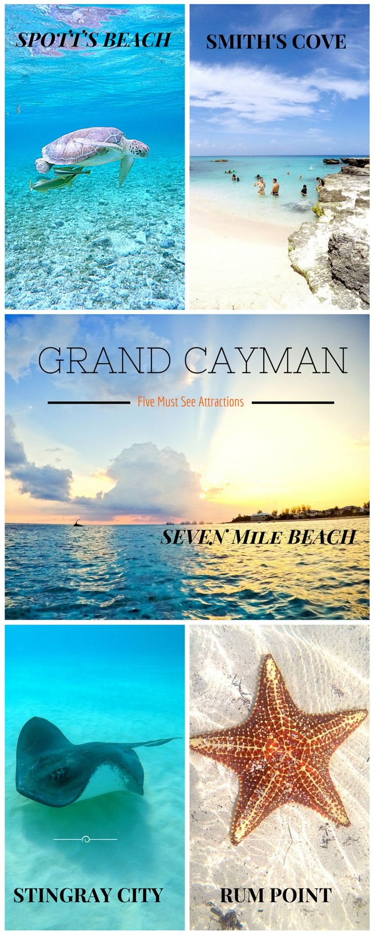 Grand Cayman's Top Five