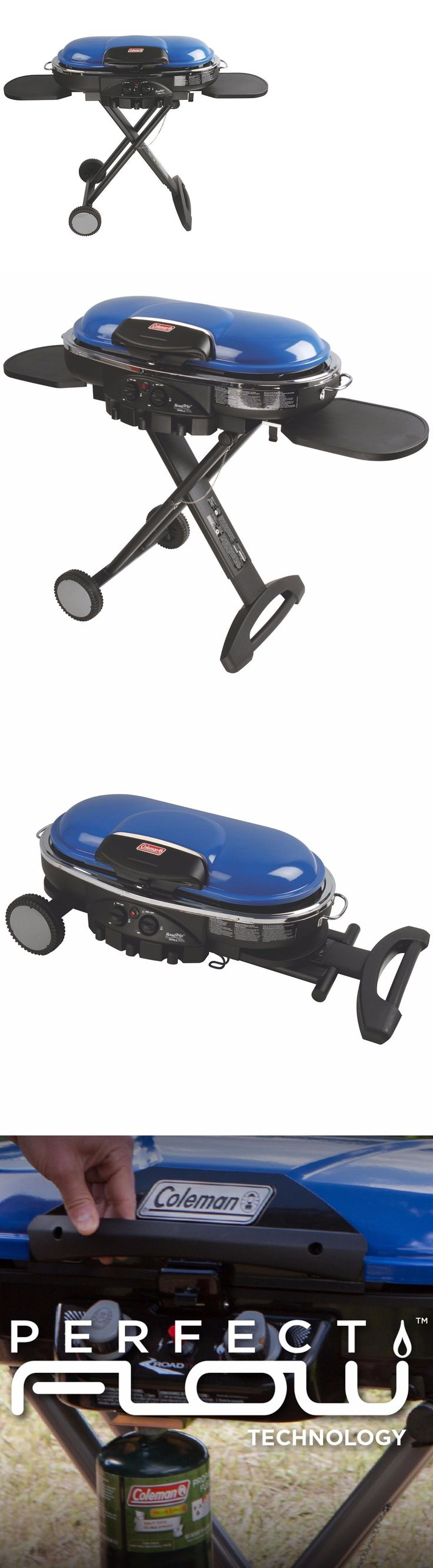 Barbecues Grills and Smokers 151621: New Coleman Road Trip Lxe Propane Gas Grill Camping Outdoor Portable 285 -> BUY IT NOW ONLY: $159.99 on eBay!