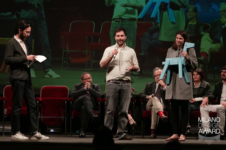 """Yesterday we received the """"E-commerce Excellence Award"""" by lovli.it at the Design Week Festival: enjoy some pics from the award ceremony!"""