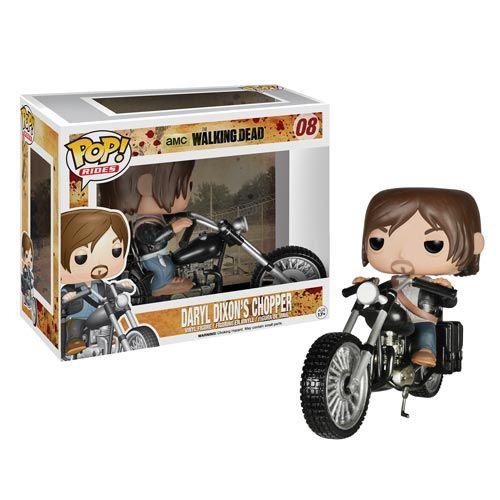 Walking Dead Daryl Dixon with Chopper Pop! Vinyl Vehicle - Funko - Walking Dead - Vinyl Figures at Entertainment Earth