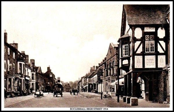 ECCLESHALL HIGH STREET 1914