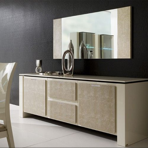 Creamy Buffet Design For The Modern Dining Room | Www.bocadolobo.com  #bocadolobo
