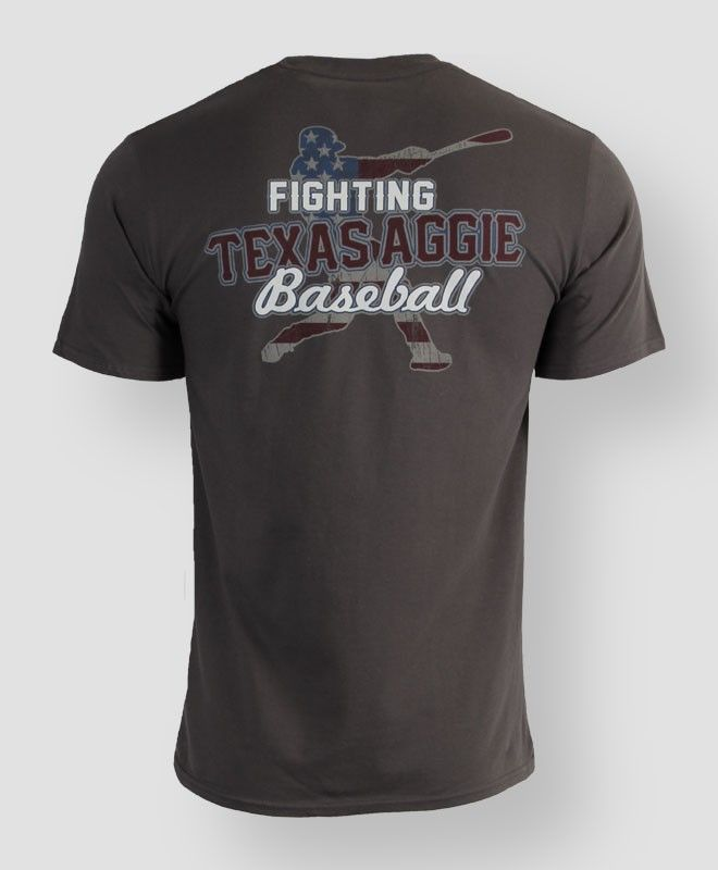 Fighting Texas Aggie baseball t-shirt #AggieGifts #AggieStyle