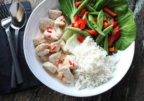 Thaikyckling med ris