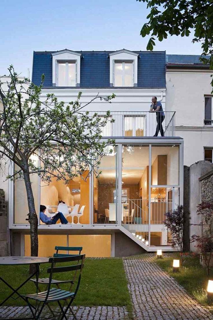 belle extension de maison moderne