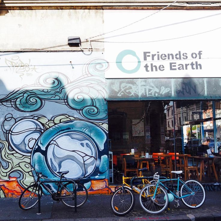 Friends of the Earth cafe. Collingwood. Vegan, gf, organic and delicious.