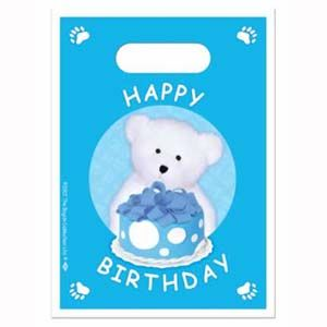 BE60606B - Baby Bear Loot Bags Blue Please note: approx. 14 day delivery time. www.facebook.com/popitinaboxbusiness