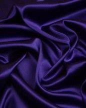 Stretch Silk Satin Fabric - Violet