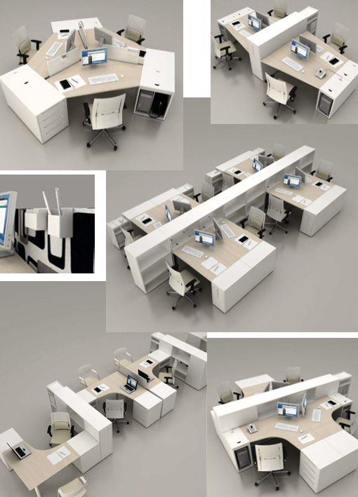 bureaux modulables logic office designs office spaces. Black Bedroom Furniture Sets. Home Design Ideas