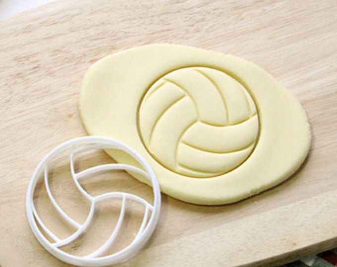 Volleyball Cookie Cutter Cupcake topper Fondant Gingerbread Cutters Awesome Christmas Gift