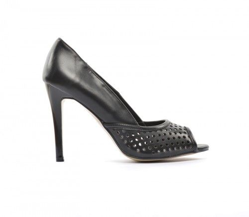 Pantofi Enduro Negri -  Piele eco  Colectia Incaltaminte de la  www.cadoupentruea.ro