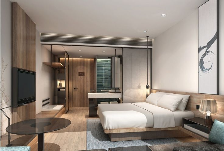 """Marriott International and Eastern Crown partner to launch """"Fairfield by Marriott(R)"""" a new affordable mid-range hotel for travelers across China. Rendering of Fairfield Hotel Standard guest room."""
