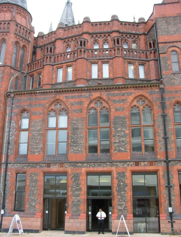 :University of Liverpool Victoria Building