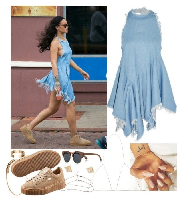 Quot Rih X Puma Exact Outfit Quot By Jasmineharper Liked On