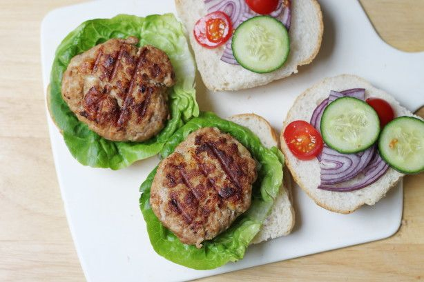 This burger is tasty and the shredded cheese gives it a great flavor. Ive used cheddar cheese, co-jack, or a Mexican cheese mixture. You may need more breadcrumbs, depending on how moist your turkey is. I like to serve this with Veganaise or mayo on the side.