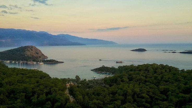 Good evening from #Gemiler Island (St. Nicholas) near #Kayakoy #Fethiye #Turkey (photo by @sezercekin)