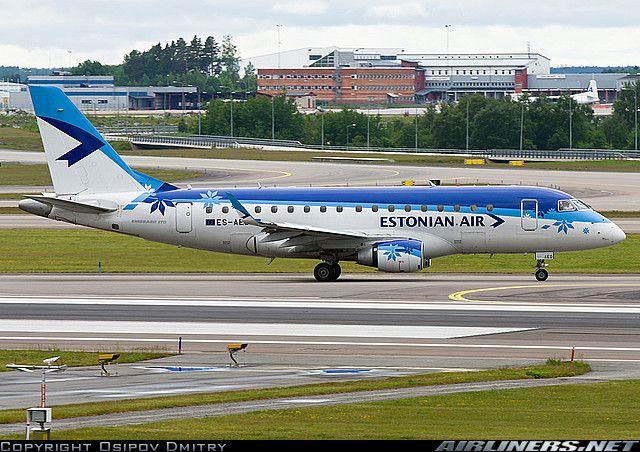 Estonian Air Embraer 170STD (ERJ-170-100STD) aircraft picture