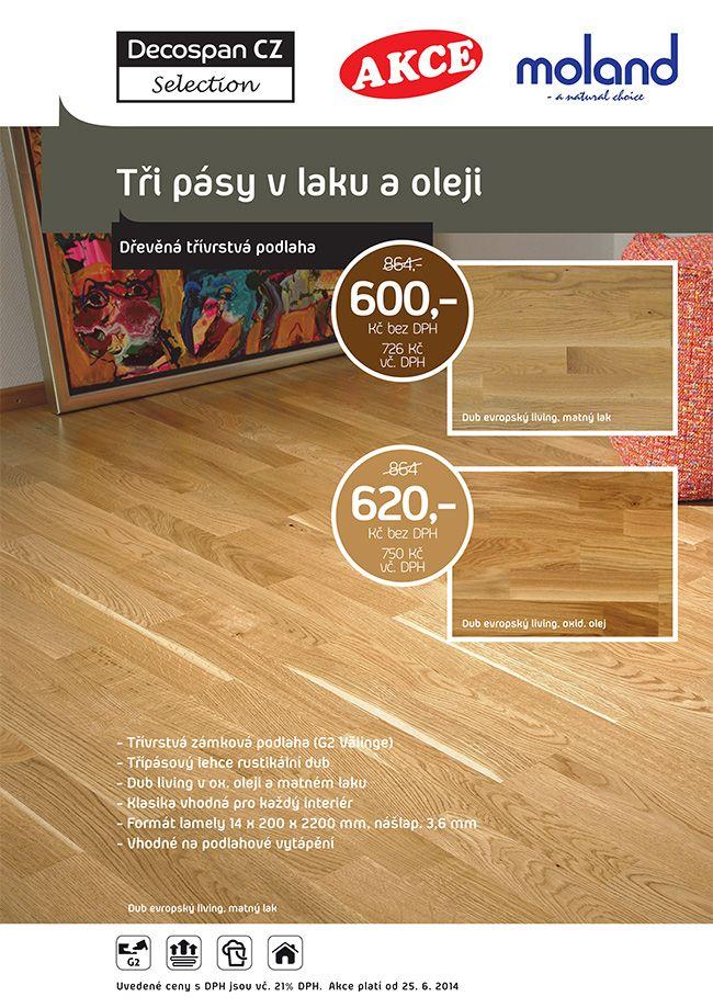 Třívrstvé dřevěné podlahy se skládají ze tří vrstev dřeva, které jsou k sobě příčně ( protitahem ) nalepeny a slisovány. Základem těchto podlaha je střední nosná vrstva  ( většinou použito dřevo borovice, smrku, břízy ). Na tuto vrstvu je nalepena horní vrstva.  http://podlahove-studio.com/content/8-drevene-plovouci-podlahy