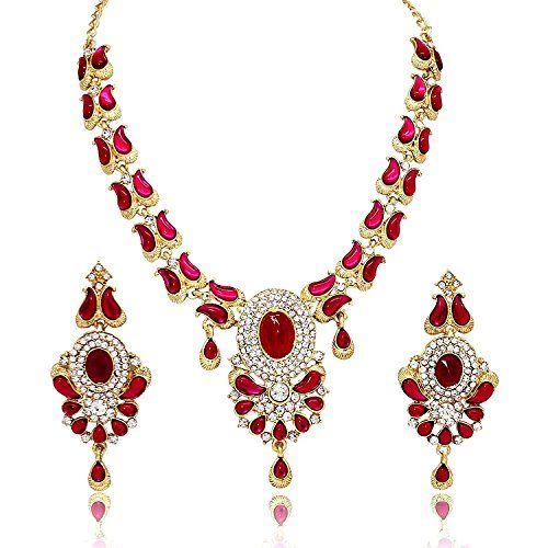 Dazzling Indian Bollywood Gold Plated Cz Wedding Wear Wom... https://www.amazon.com/dp/B06Y1K488T/ref=cm_sw_r_pi_dp_x_rml6yb13VRPTX