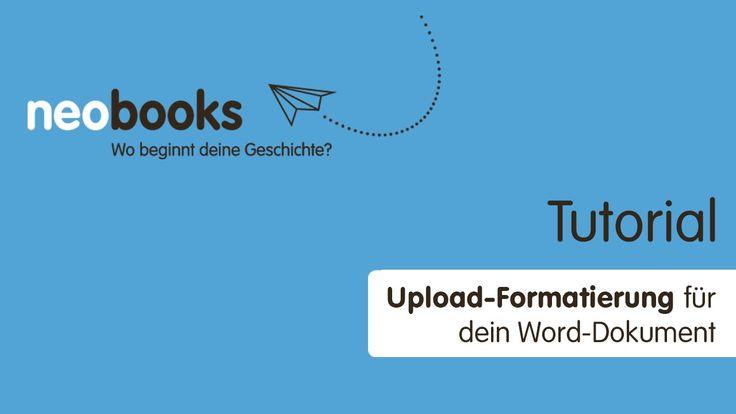 Wunderbare Erklärung zur Formatierung Deines Worddokumentes