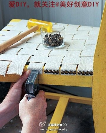 Fix a chair without cushions, not only environmentally friendly, very beautiful
