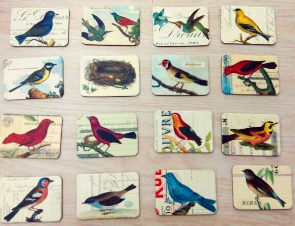 Find More Fridge Magnets Information about Countryside Bird 24 Piece Magnetic Fridge Magnets Refrigerator Sticker Home Decoration Accessories Magnetic Paste Arts/Crafts,High Quality magnetic fridge magnets,China fridge magnet Suppliers, Cheap magnet refrigerator from Lucky100% on Aliexpress.com