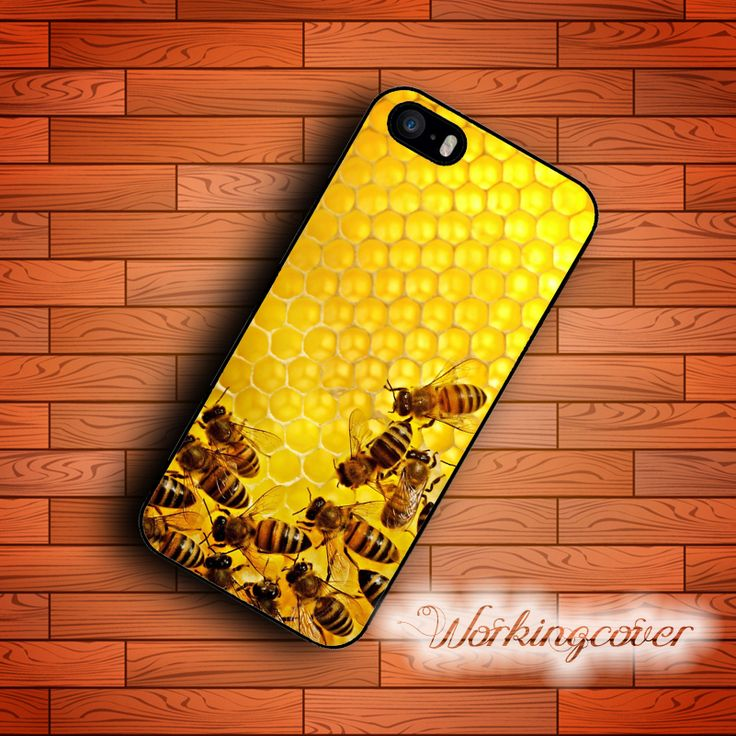 Fundas Luxury Bee 2017 Top Quality Case for iPhone 7 6S 6 5S SE 5 5C 4S 4 Plus Case Cover for iPod Touch 6 5 Case.