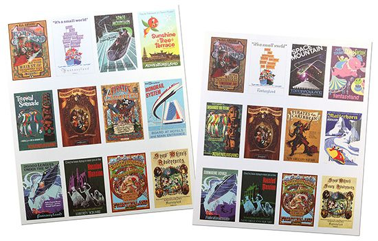 First Look at 2014 Calendar Featuring Attraction Posters from Disney Parks
