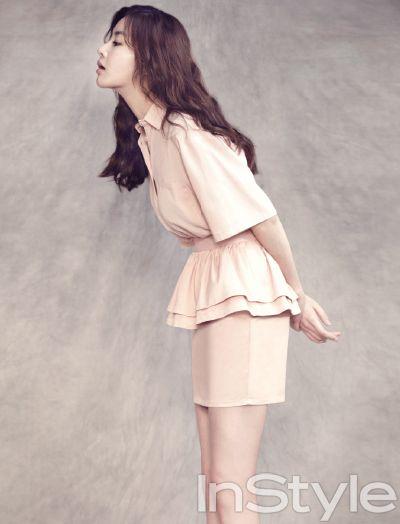 Simple yet cute  InStyle Korea Model: Kang Sora