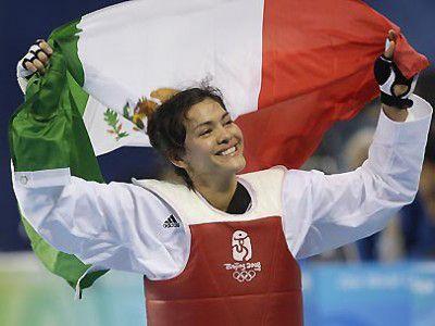 Campeona en los juegos olímpicos 2012 María del Rosario Espinoza por esto ¡Yo amo México!