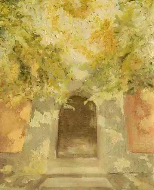 Elsker fargespillet i dette maleriet