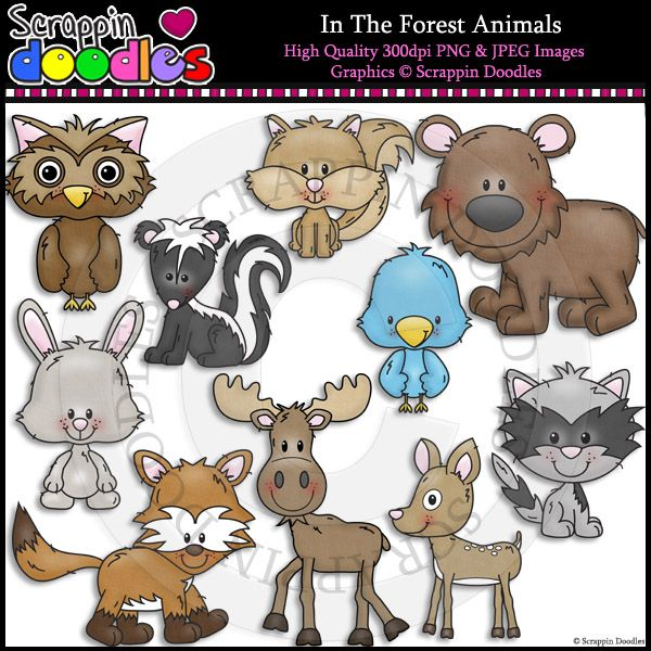 Line Drawings Of Woodland Animals : Images about my art on pinterest bunting banner