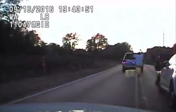 Outrage after videos show fatal shooting of unarmed black man     - CNET  Technically Incorrect offers a slightly twisted take on the tech thats taken over our lives.  Enlarge Image  Crutcher appears to walk away with his hands up.                                             Tulsa PD screenshot by Chris Matyszczyk/CNET                                          Every time one of these videos comes out it incites incredulity and outrage.  Some police departments appear to withhold such videos…