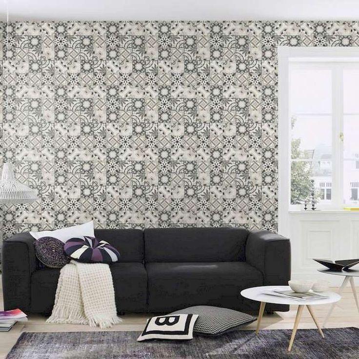 Colección: New Concept 2018. Fabricante: Decoas. Producto: Papel vinílico. Papel pintado azulejos vintage gris. Soporte: Tejido no-tejido.