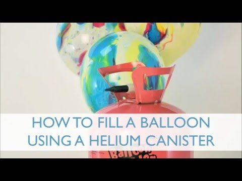 Helium Balloon Gas Canister Party Kit | Party Balloons & Decorations | Party Pieces