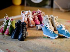 Мастер-класс: изготовление обуви для куколок | Ярмарка Мастеров - ручная работа, handmade