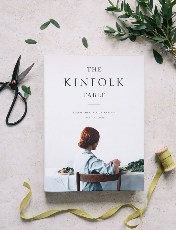 The Kinfolk Table Book from Rose & Grey