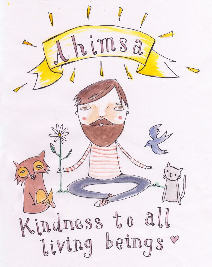 "Ahimsa: the term ahimsa denotes the principle of least harm: ""Do not injure, abuse, oppress, enslave, insult, torment, torture or kill any creature or living being."""