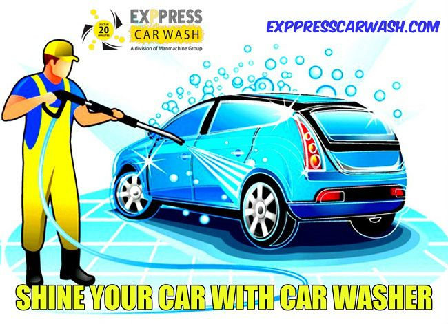 Shine Your Car with Foam Car Wash of Automatic Car Washer