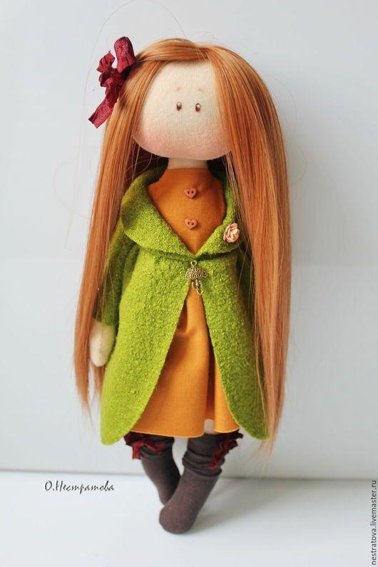 Fabric doll / Коллекционные куклы ручной работы. Заказать Ханна. Интерьрная кукла. Олеся. Ярмарка Мастеров. Кукла, подарок девушке, интерьер детской