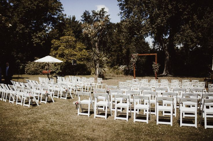 Outdoor ceremonies on the Marquee Lawn