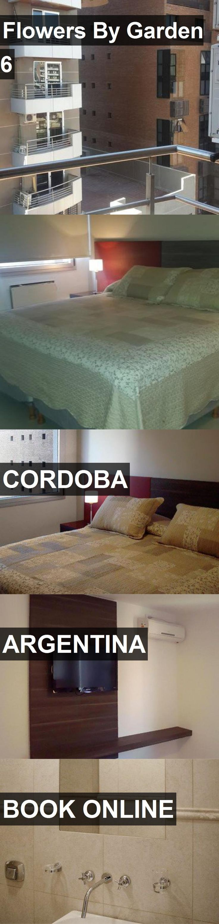 Hotel Flowers By Garden 6 in Cordoba, Argentina. For more information, photos, reviews and best prices please follow the link. #Argentina #Cordoba #travel #vacation #hotel