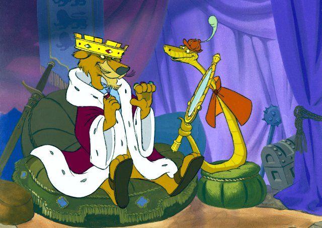 Prince John & Sir Hiss - Disney's Robin Hood