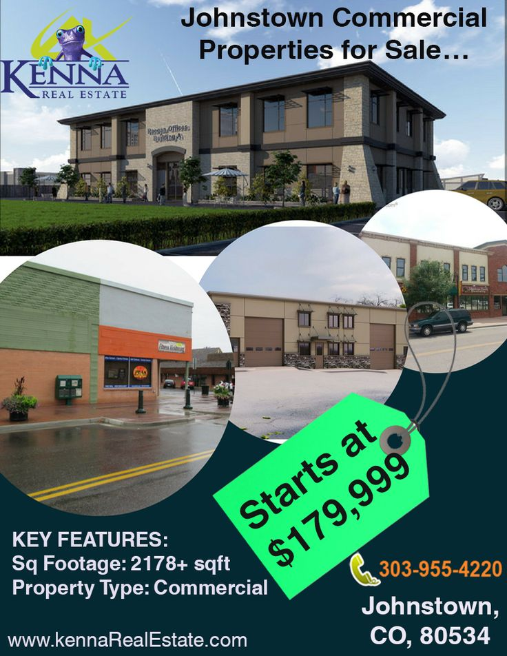 Johnstown Commercial Properties for Sale…  www.KennaRealEstate.com  #Commercial, #Forsale, #Property