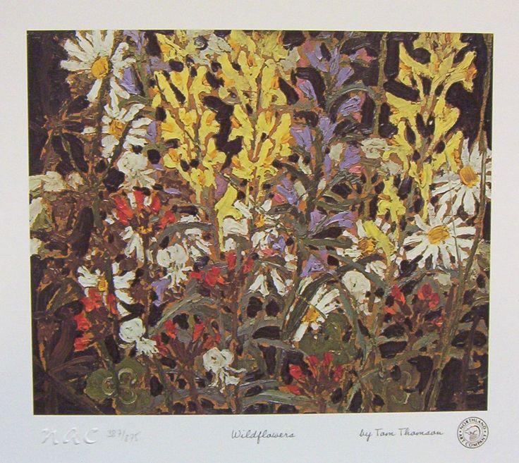 Tom Thomson. Wildflowers.