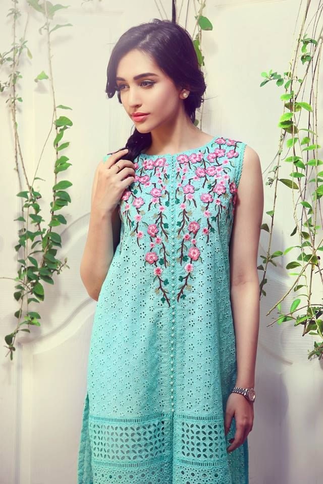 Suffuse Summer Dresses 2015 for Girls by Sana Yasir