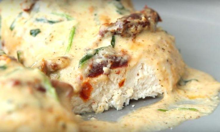 Évadez-vous vers la Toscane le temps d'un repas : Poitrines de poulet... sauce à l'ail