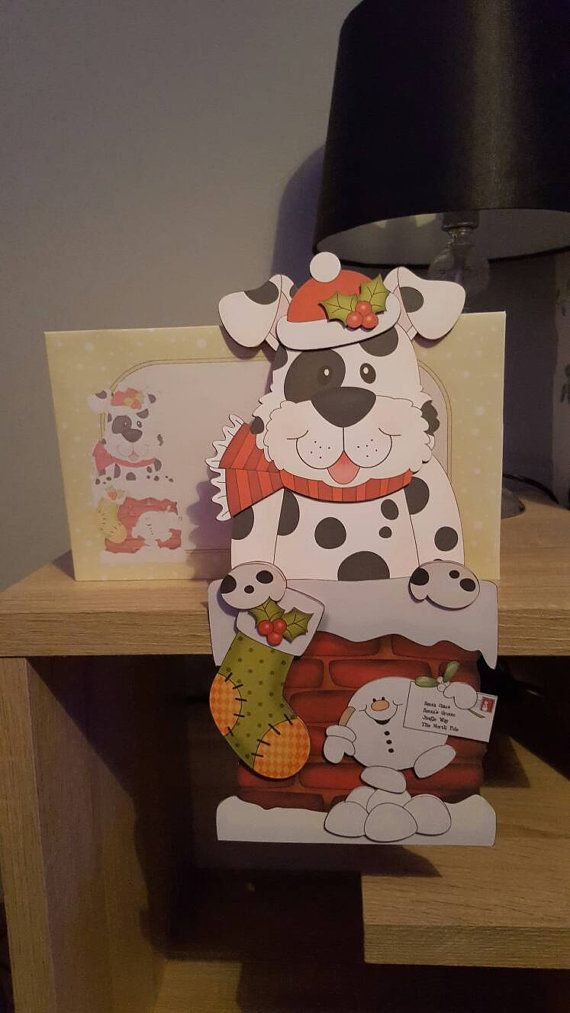 Check out this item in my Etsy shop https://www.etsy.com/uk/listing/471314412/spotty-dog-christmas-on-the-shelf-card